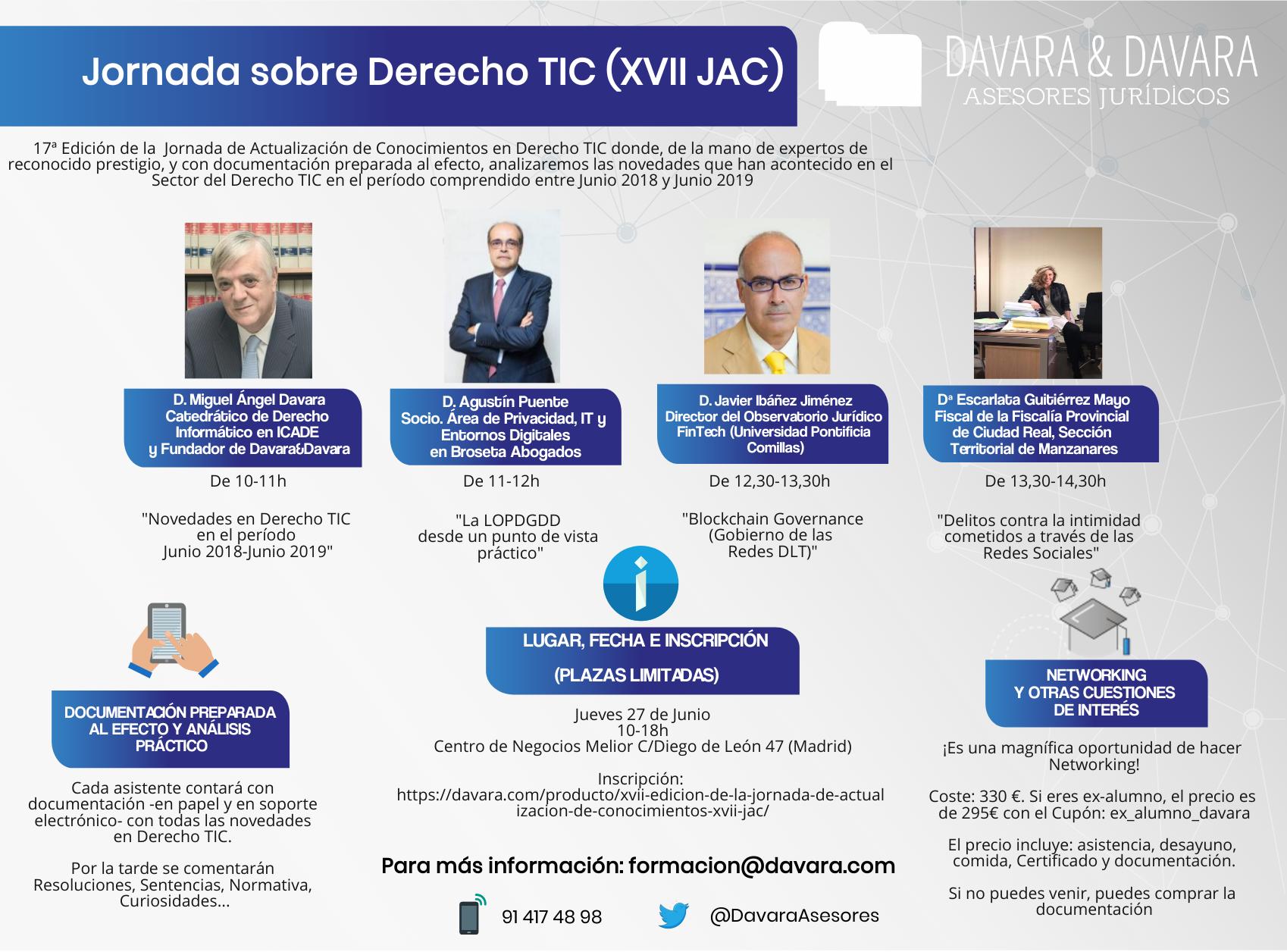 LOPDGDD, AEPD, RGPD, GDPR, Protección de datos, Jornada, Redes Sociales, Madrid